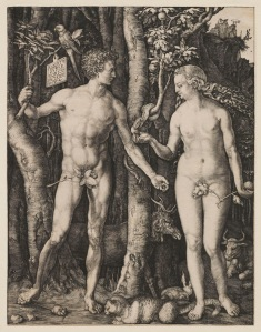 Albrecht Dürer, Adam and Eve, 1504
