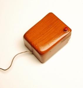 Engelbart's Mouse, Prototype (replica), ca. 1964