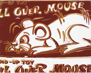 Andy Warhol, Roll Over Mouse, 1983, acrylic silkscreen
