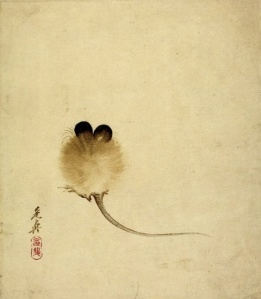 Shibata Zeshin Mouse, ca 1870