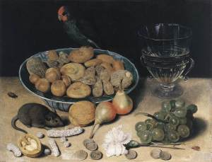 Georg Flegel Dessert Still Life, early 1600s